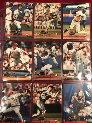 1993 Stadium club baseball cards complete system consisting of 750 cards for Sale in Valhalla, NY