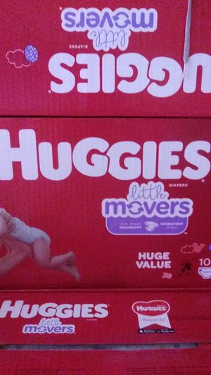 Huggies diapers little movers for Sale in Hesperia, CA