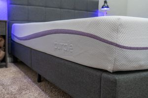 New style purple California king mattress for Sale in Holly Springs, NC