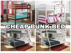 Bunk Bed $125 Sale Tuesday for Sale in Dallas, TX