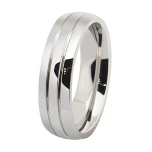 Unisex Silver Engagement /Wedding Ring- Code JU10 for Sale in Los Angeles, CA
