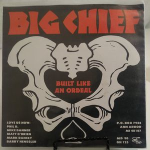 """Big Cheif - Get Down and Double Check/Built Like an Ordeal - 7"""" Vinyl/Lp/Record - Promotional - Rare - Green Lp- Perfect Condition for Sale in Auburn, WA"""