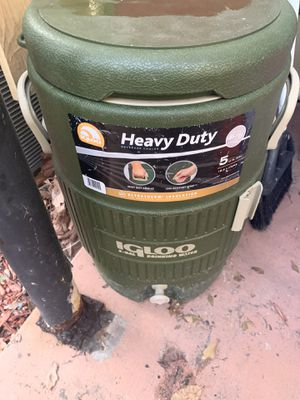 Igloo Heavy Duty Beverage Cooler for Sale in Tampa, FL