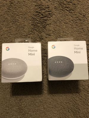 Google Home Mini - Smart Speaker with Google Assistant for Sale in Ocean Springs, MS