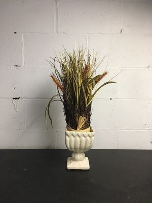 Vase with plants for Sale in Bridgeville, PA