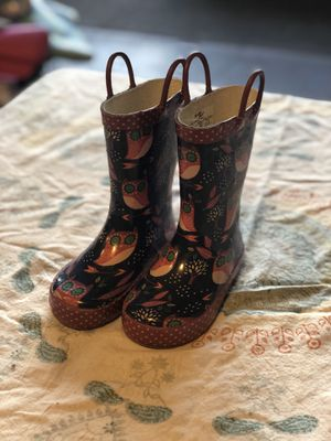 Kids Rain boots - little girls size 9. for Sale in Maple Valley, WA