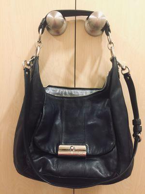 Coach Large Black Leather Handbag for Sale in Redmond, WA