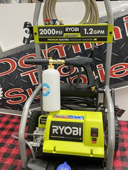 Ryobi 2000 psi Electric Pressure Washer With Foam Cannon Only Asking $160 for Sale in La Habra,  CA