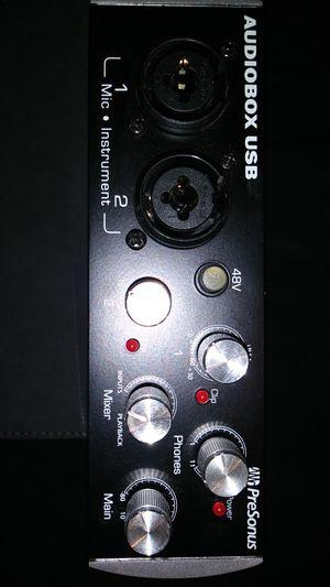 Presonus Audio Box usb excellent condition for Sale in Wichita, KS