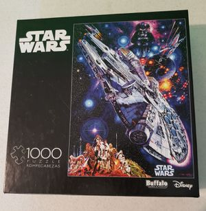 Star Wars Disney 1000 Piece Puzzle for Sale in Black Diamond, WA