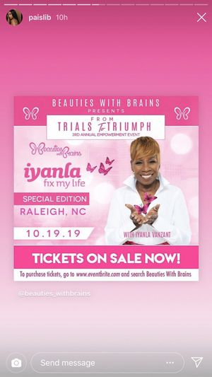 Iyanla meet & greet for sale !! for Sale in Hampton, VA