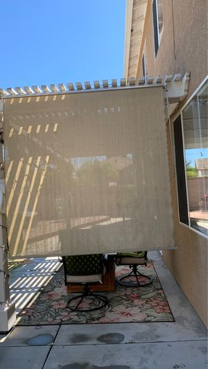 72w * 72L UV blocking cordless sunshade beige in color for Sale in Temecula, CA