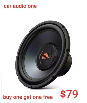 Car audio one for Sale in San Diego, CA
