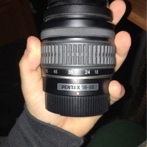 Pentax 18-55 Lens For K Mount for Sale in Iowa City, IA
