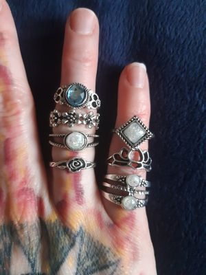 Ring Collection for Sale in Cedar Rapids, IA