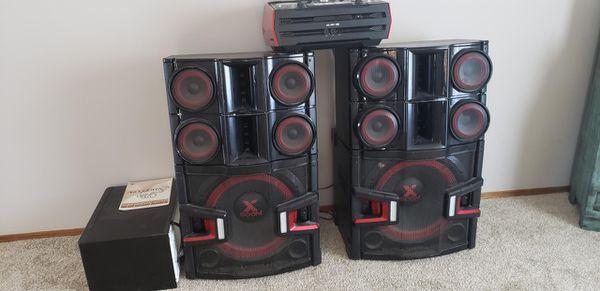 Dj stereo system