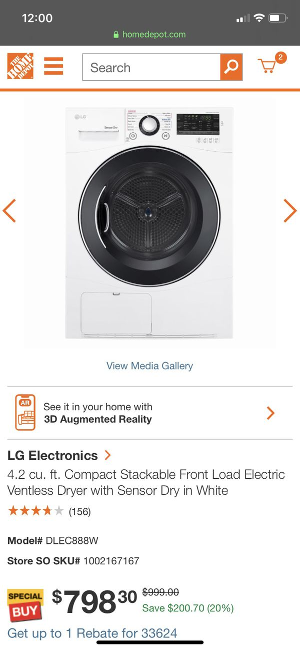 Brand New LG front loaders small size