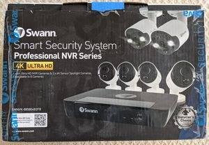 6 camera Swann smart security system for Sale in San Jose, CA