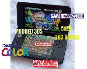 Modded Nintendo 3ds xl with over 250+games for Sale in Chico, CA