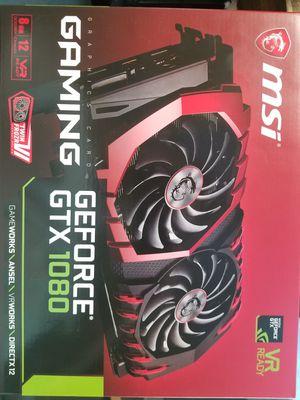 MSI GTX 1080 for Sale in Tulalip, WA