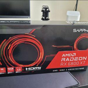 AMD Radeon 6800 XT for Sale in Anaheim, CA
