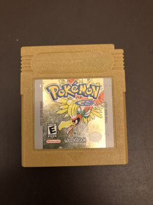 Pokémon Gold Gameboy for Sale in Los Angeles, CA