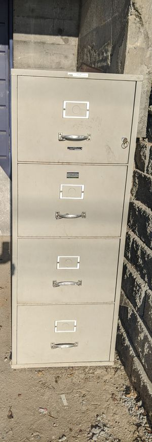 Fireproof Filing Cabinet for Sale in Tacoma, WA