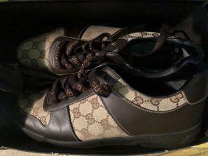 Gucci men's Sneakers designer size 10 for Sale in Englewood Cliffs, NJ