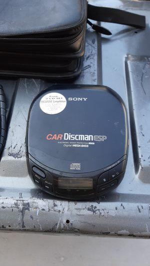 Sony car Discman/24 CD case logic CD organizer for Sale in Las Vegas, NV