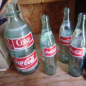 ANTIQUE COCA COLA BOTTLES for Sale in Duncanville, TX