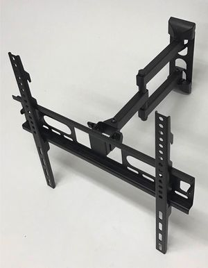 New in box 22 to 55 inches swivel full motion tv television wall mount bracket flat screen monitor 90 lbs capacity soporte de tv for Sale in San Dimas, CA