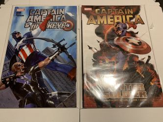 Marvel Comics Captain America Trade Paperbacks for Sale in Cranston,  RI