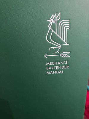 Meehans bartender Manual book for Sale in Victorville, CA