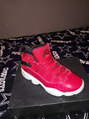 Jordan six rings size 1 kids for Sale in Fort Worth, TX