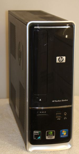 HP Pavilion Slim line s5310y, New Windows 10 Pro/Office 640 gb hd, WI FI for Sale in Kissimmee, FL