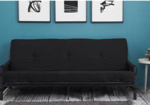 New!! Sofa, futon, couch, convertible sofa futon full bed, sleeper, guest bed, daybed, living room furniture, black for Sale in Phoenix, AZ