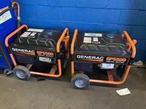 Brand new generator both for 1200 for Sale in Jersey City, NJ