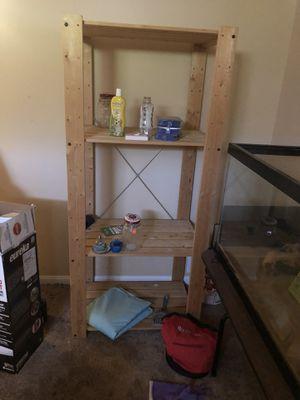 Wood Shelving Units (2) for Sale in Woodbridge, VA