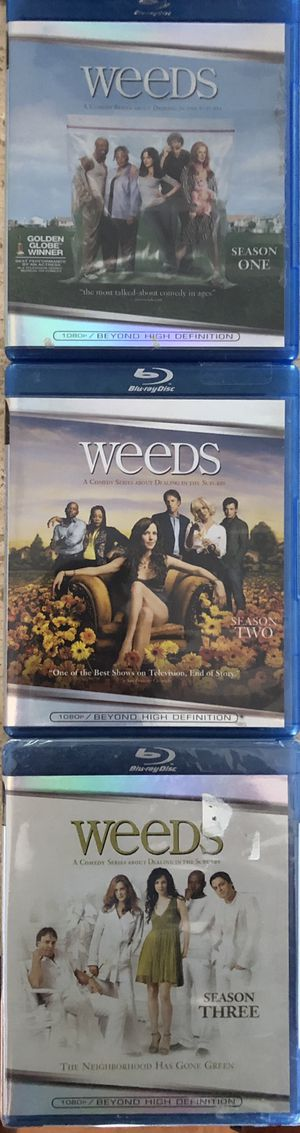 Weeds season 1, 2 and 3 on Blue Ray for Sale in Dallas, TX