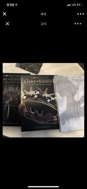 Game of thrones DVD set season 1-7 for Sale in Dallas, TX