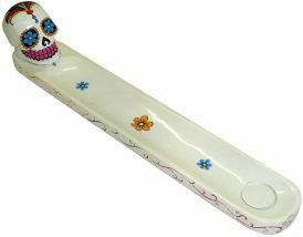 White Sugar Skull Incense Burner for Sale in Indianapolis, IN