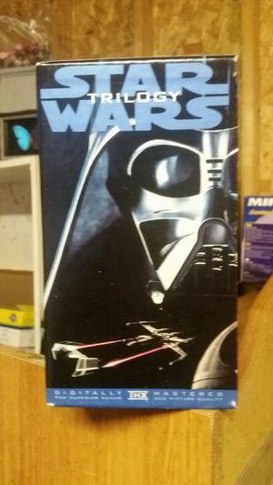 Star wars trilogy never opened vhs for Sale in Harper Woods, MI