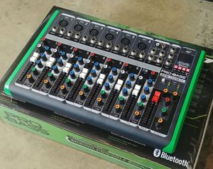 Pro Bass 12 channel mixer. With USB, and bluetooth. Brand New...for speaker...and microphones. Nationwide. for Sale in Doral, FL