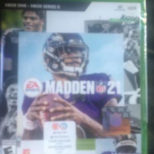 Madden 21 Xbox1 (still In Wrapper) for Sale in Washington, DC