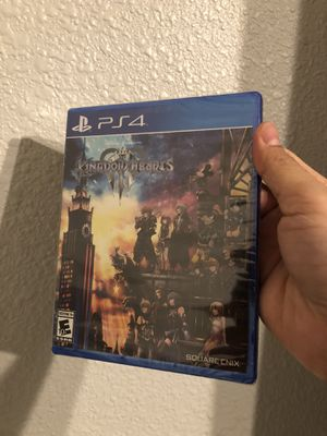 Kingdom hearts 3 PS4 sealed for Sale in Fresno, CA