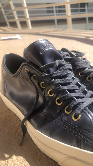 CONVERSE JACK PURCELL MENS LOWTOP LEATHER SHOE! BLUE&WHITE! LIKE NEW! LAST PAIR LEFT!!  for Sale for sale  Beverly Hills, CA