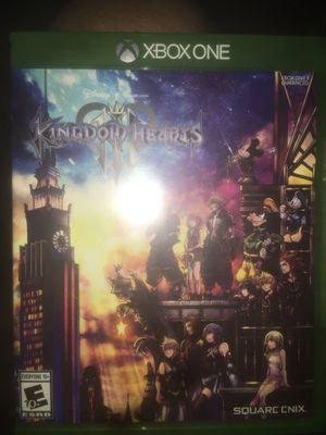 Kingdom hearts 3 Xbox for Sale in Fontana, CA