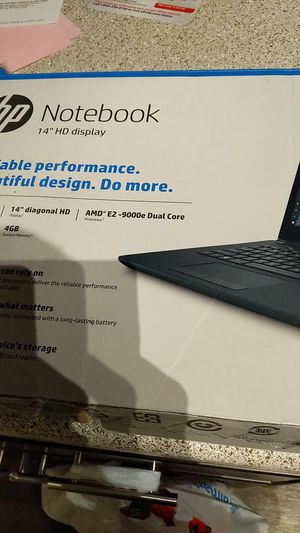 Hp notebook for Sale in Fairview, OR