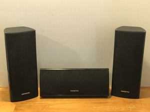 Onkyo Surround Sound Speakers for Sale in Martinsburg, WV