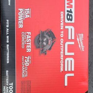 M18 Fuel Circular Saw 7 1/4 for Sale in Boonton, NJ